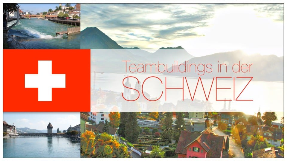 Team events and team building throughout Switzerland