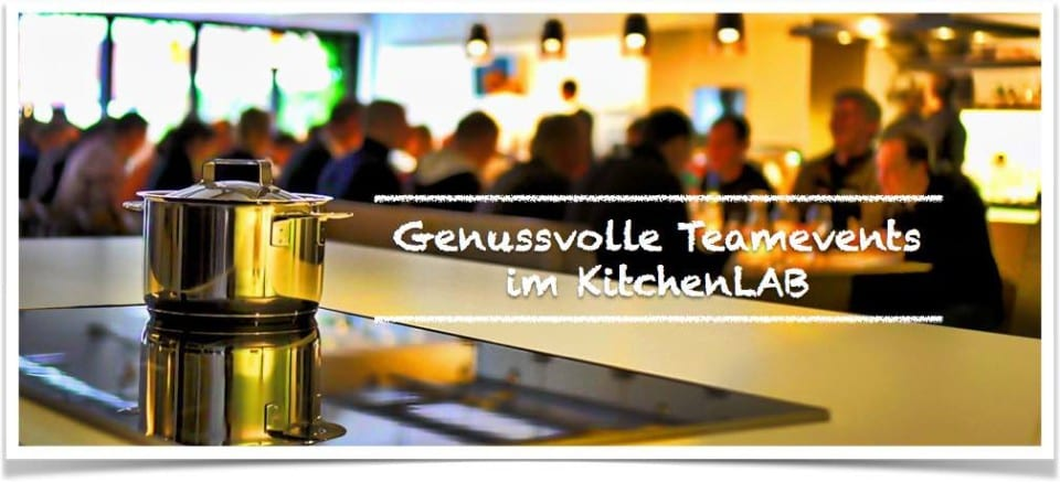 Cooking courses and events in Osnabrück: Cooking as an experience for teams of 5 to 250 people during company events, company outings or team training.